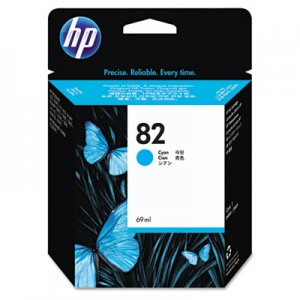 HP C4911A 82, (C4911A) Cyan Original Ink Cartridge HEWC4911A