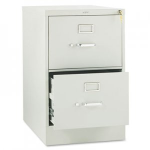HON 312CPQ 310 Series Two-Drawer, Full-Suspension File, Legal, 26-1/2d, Light Gray HON312CPQ