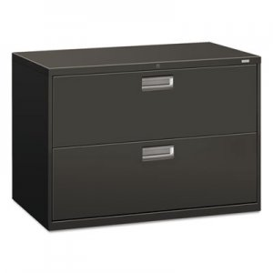 HON 692LS 600 Series Two-Drawer Lateral File, 42w x 19-1/4d, Charcoal HON692LS