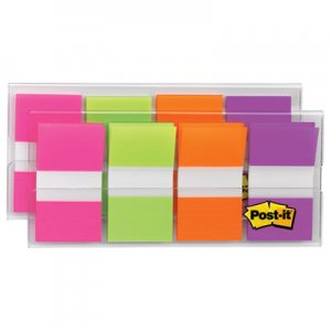 Post-it Flags MMM680PGOP2 Page Flags in Portable Dispenser, Bright, 160 Flags/Dispenser 680-PGOP2