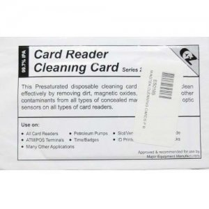 MagTek 96700004 MICRImage Reader Cleaning Card
