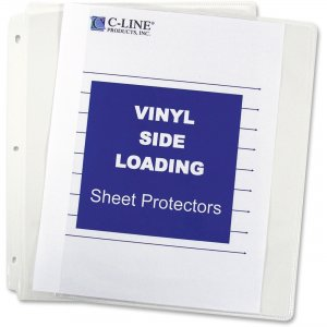 C-Line 61313 Side Loading Sheet Protector CLI61313