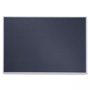 Quartet B4831 Matrix Gray Bulletin Board QRTB4831