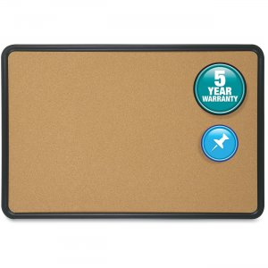 Quartet 699175 Contour Cork Bulletin Board QRT699175