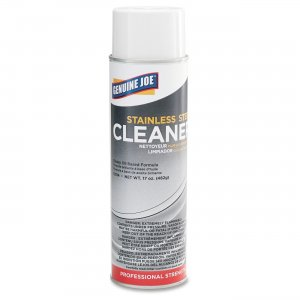Genuine Joe 02114 Stainless Steel Cleaner and Polish GJO02114