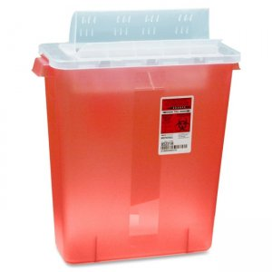 Covidien STRT10021R Kendall Sharp Container with Lid CVDSTRT10021R