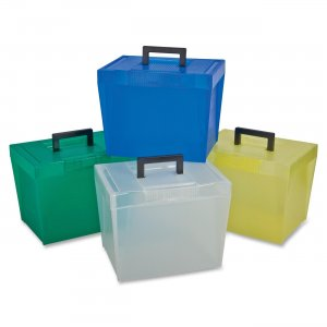 Pendaflex 20881 Economy File Box with Handle PFX20881