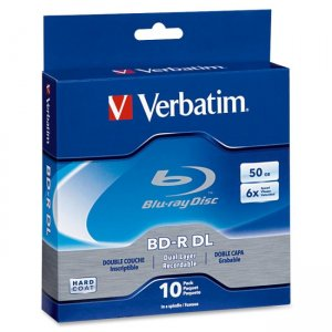 Verbatim 97335 Blu-ray Dual Layer BD-R DL 6x Disc
