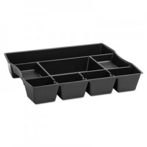 Rubbermaid Commercial 21864 Nine-Compartment Deep Drawer Organizer, Plastic, 14 7/8 x 11 7/8 x 2 1/2