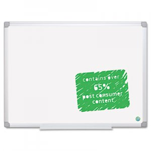 MasterVision MA0500790 Earth Easy-Clean Dry Erase Board, White/Silver, 36x48 BVCMA0500790
