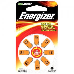 Energizer AZ13DP-8 Coin Cell Hearing Aid Battery AZ13DP