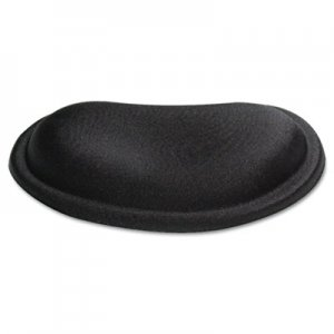 Kelly Computer Supply KCS50175 Palm Rest, Memory Foam, Non-Skid Base, 6 x 3-1/4 x 3/4, Black