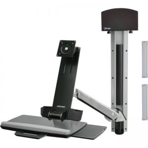 Ergotron 45-266-026 StyleView Sit-Stand Combo Arm