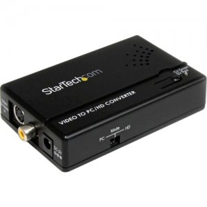 StarTech.com VID2VGATV2 Composite and S-Video to VGA Video Scan Converter