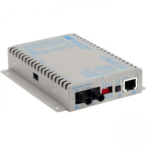 Omnitron Systems 8700-0-D iConverter T1/E1 ST Multimode 5km Wall-Mount Standalone US AC Powered 8700-0-x