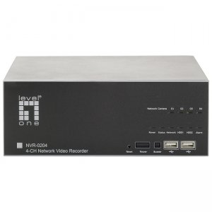LevelOne NVR-0204 Video Surveillance Station