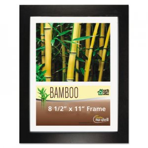 NuDell NUD14185 Bamboo Frame, 8 1/2 x 11, Black