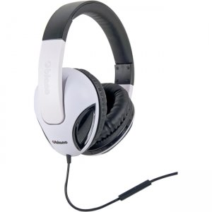 SYBA Multimedia OG-AUD63039 Oblanc Cobra White Stereo Headphone W/In-line Microphone