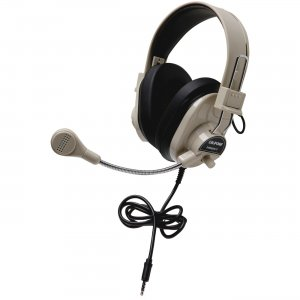 Califone 3066AVT Deluxe Stereo Headset with To Go Plug