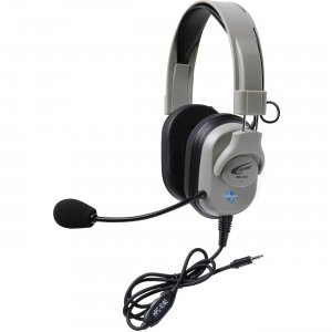 Califone HPK-1010T Titanium Series Headset with To Go Plug