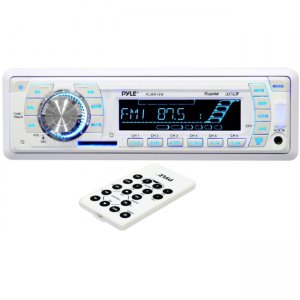 Pyle PLMR19W AM/FM-MPX PLL Tuning Radio w/SD/MMC/USB & Weather Band