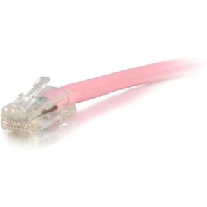 C2G 00623 7 ft Cat5e Non Booted UTP Unshielded Network Patch Cable - Pink
