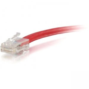 C2G 04148 1 ft Cat6 Non Booted UTP Unshielded Network Patch Cable - Red