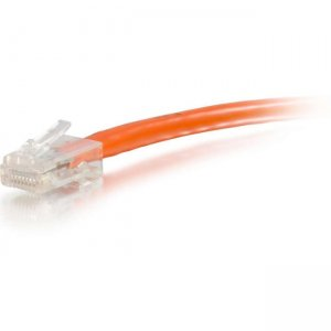C2G 04208 75 ft Cat6 Non Booted UTP Unshielded Network Patch Cable - Orange