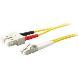 AddOn ADD-SC-LC-1M9SMF 1m SMF 9/125 Duplex SC/LC OS1 Yellow LSZH Patch Cable