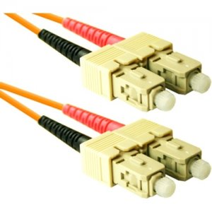 ENET SC2-1M-ENC Fiber Optic Duplex Patch Network Cable