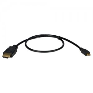 QVS HDAD-4.5M High Speed HDMI to Micro-HDMI with Ethernet 1080p HD Cable