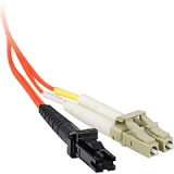 SIIG CB-FE0F11-S1 3M Multimode 50/125 Duplex Fiber Patch Cable LC/MTRJ