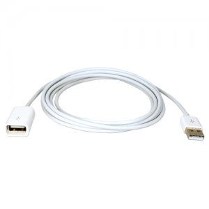 QVS ACX-U1M 1-Meter USB Dock Sync & Charger Extension Cable for iPod, iPhone & iPad/2/3