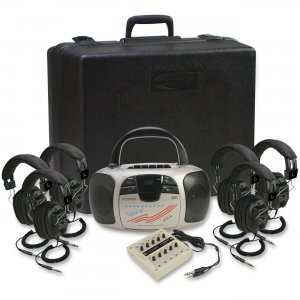 Califone 1776PLC-6 Multimedia Player Kit