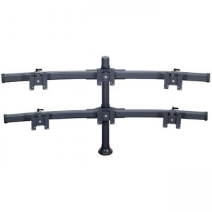 "Premier Mounts MM-BH286 2 Triple Curved Mounts Bow on 28"" Tube with Grommet Base"