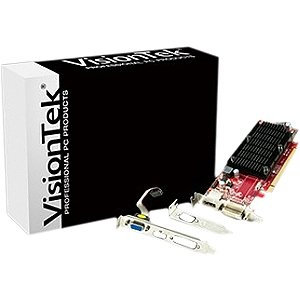 Visiontek 900484 Radeon HD 6350 Graphic Card with Short Bracket Mounted