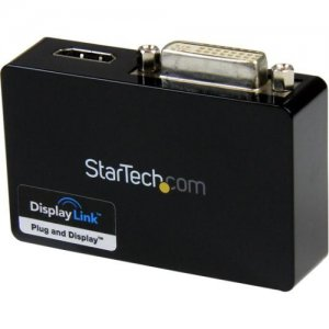 StarTech.com USB32HDDVII USB 3.0 to HDMI and DVI Dual Monitor External Video Card Adapter