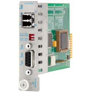 Omnitron Systems 8787-2 iConverter RS422/485 DB-9 LC Single-Mode 60km Plug-In Module 8787-2-x