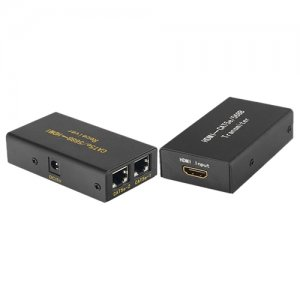 4XEM 4XHDMIEXT30M 30M/100Ft HDMI Extender Over Double Cat-5E or Cat-6 RJ45