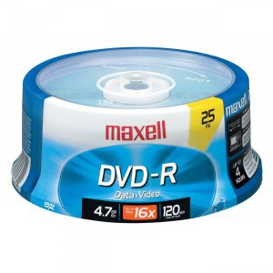 Maxell 638010 16x DVD-R Media MAX638010