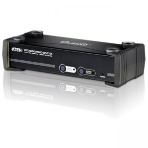 Aten VS1508T 8-Port VGA/Audio Cat5e/6 Splitter with RS-232