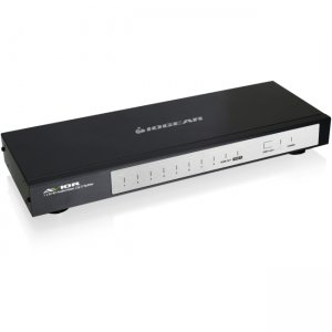 Iogear GHSP8214E 4/8-Port HD Audio/Video Cat 5e/6 Splitter