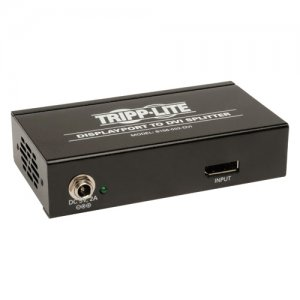 Tripp Lite B156-002-DVI Displayport to 2 X DVI Splitter - 2 Port