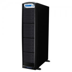 Vinpower Digital BD-PIO-15-BK SharkBlu SATA Blu-ray/DVD/CD Tower Duplicator - Pioneer 12x