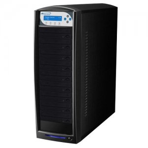 Vinpower Digital BD-PIO-9-BK SharkBlu SATA Blu-ray/DVD/CD Tower Duplicator - Pioneer 12x