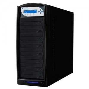Vinpower Digital BD-PIO-8-BK SharkBlu SATA Blu-ray/DVD/CD Tower Duplicator - Pioneer 12x