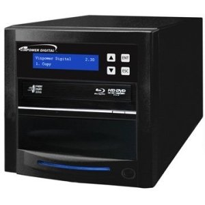 Vinpower Digital ECON-S1T-BD-BK Econ Series SATA Blu-Ray/DVD/CD Tower Duplicator