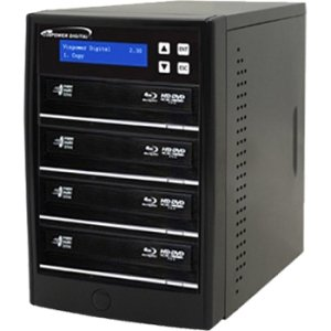 Vinpower Digital ECON-S3T-BD-BK Econ Series SATA Blu-Ray/DVD/CD Tower Duplicator