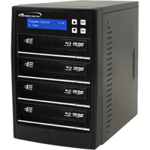 Vinpower Digital ECON-S4T-BD-BK Econ Series SATA Blu-Ray/DVD/CD Tower Duplicator