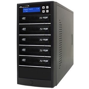 Vinpower Digital ECON-S5T-BD-BK Econ Series SATA Blu-Ray/DVD/CD Tower Duplicator